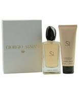 New ARMANI SI by Giorgio Armani #278514 - Type: Gift Sets for WOMEN - $138.83