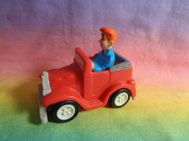 Vintage 1991 Burger King Toy Riverdale Comic Archie Andrews Red Car - as is - $2.95