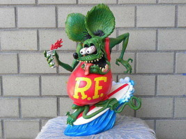 Rat Fink  Surf up Figure Sofubi Statue 31cm Toy Rare - $395.99