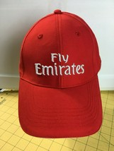 Caps Hats Snap backs Fly Emirates Airlines Red Cap Hat Baseball  - $16.61