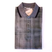 j-2755984 NEU Brioni Olive Muster Polo kurzärmeliges Polohemd Größe XS - $161.50