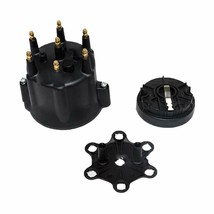 A-Team Performance 6-Cylinder Male Pro Series Distributor Cap & Rotor Kit BLACK image 1
