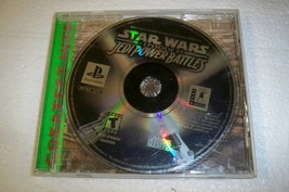 Star Wars Jedi Power Battles  PS1  Playstation Game - $8.79