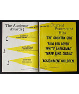 EXTREMELY RARE 1955  PROMO ACADEMY AWARDS MOVIE AD GRACE KELLY THE COUNT... - $19.26