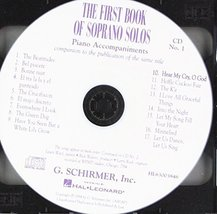 The First Book Of Soprano Solos [Audio CD] Various - $12.86