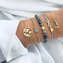 2019 New Authentic turtle charm bracelets bohemian bangles for women fas... - $13.59