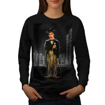Actor Charlie Chaplin Jumper Old Star Women Sweatshirt - $20.99