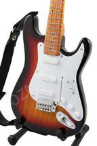 Miniature Guitar Jimi Hendrix Strat Sunburst - $29.90