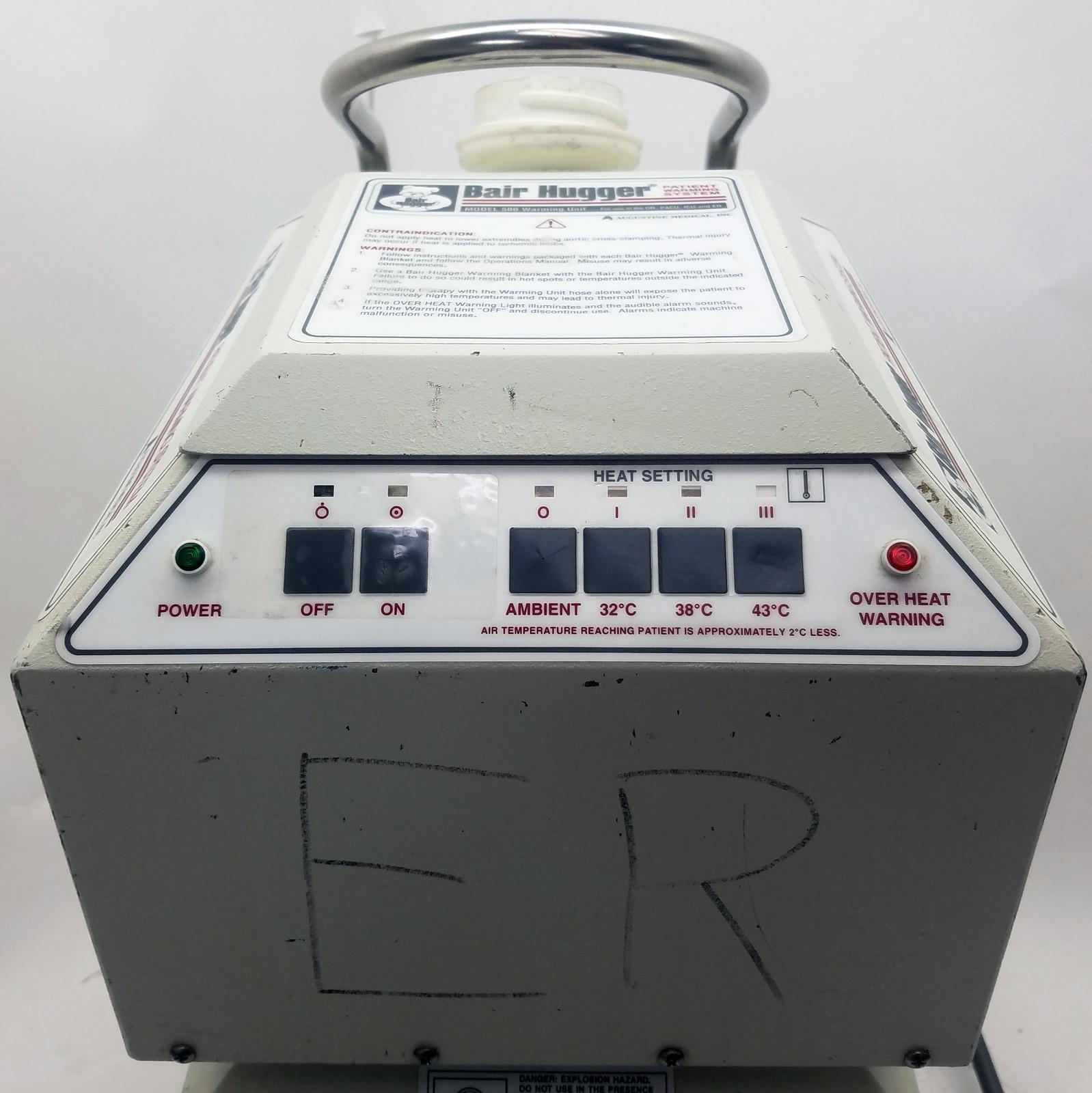 Bair Hugger Model 500 Patient Warming System Bin: 1