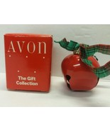 Pretty Sleigh Bell Red Avon The Gift Collection Christmas Ornament - $3.99