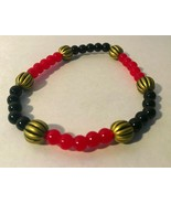 Black and Red Bracelet. Help Support Wounded Warrior  - $4.55