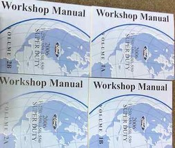 2006 Ford TRUCK F-250 F250 350 450 550 Service Shop Repair Manual SET BR... - $222.70