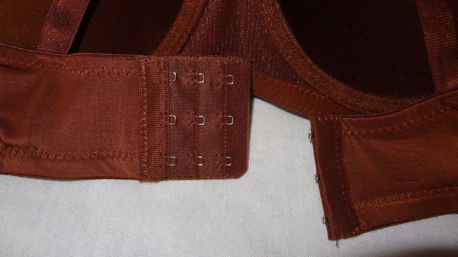 New Bra Color Brown Underwire Size 38D Paris Pink