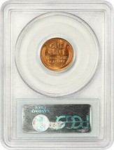 1941-S 1c PCGS MS67 RD - Lincoln Cent image 2