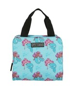 Betsey Johnson Mermaid Insulated Lunch Tote Bag Lunchbox New Teal Pink P... - $38.00