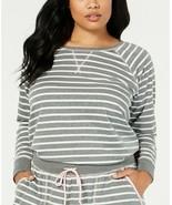 Jenni by Jennifer Moore Plus Size Printed Knit Pajama Top - £11.96 GBP