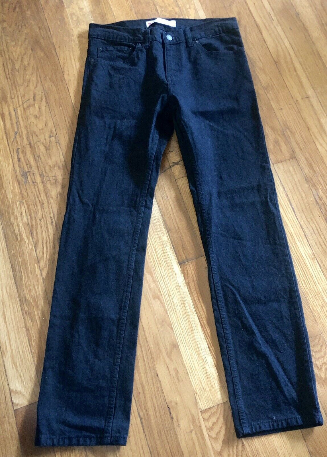 Primary image for Levi's 511 Slim Fit 18 Reg Youth Denim Black Jeans 29 X 29