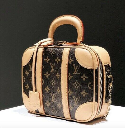 Auth BNIB 2019 Louis Vuitton Mini Luggage Monogram Canvas Bag