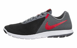 NIKE MEN'S FLEX EXPERIENCE RN 6 SHOES black red grey 881802 011 - $73.93