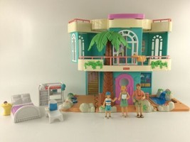 2000 Mattel Fisher Price Loving Family Sweet Streets Beach Vacation House  - $49.99