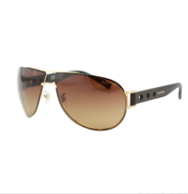 Chopard Men's SCHB32 383P 67 Gold Pilot Polarized Sunglasses - $188.09