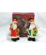Certified International Corp Midnight Santa Salt And Pepper Shaker Set I... - $8.18