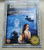 CASTLE SPULZEER D&D Forgotten Realms Module Ravenloft Dungeons Dragons Magazine - $34.60