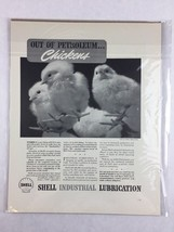 Vintage Shell Industrial Lubrication Promo Art Print Collectible Ad 11 x 14 - $29.70