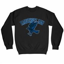 Harry Potter Distressed Ravenclaw Raven Children's Unisex Black Sweatshirt - $25.35