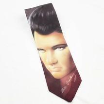 """Ralph Marlin Mens Elvis Presley Signature Neck Tie 57"""" Long 3.5"""" Wide 50... - $17.99"""