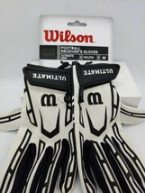 """Wilson Ultimate Grip Football Receiver Gloves Youth Size """"Medium"""" WTF9311WLM - $15.83"""