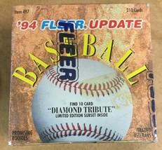 1994 Fleer Update Factory Sealed Baseball 210 Card Set Arod Rookie Card - $29.39