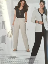 Burda Sewing Pattern 6952 Misses Plus Size Pants Size 18-34 New - $12.67