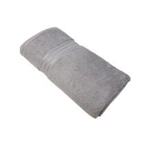 4 X Gestreift Hotel Qualität Ägyptische Baumwolle Silber Badetuch Handtuch - $78.28