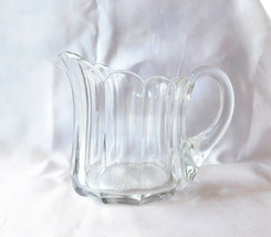 Heisey Short Glass Pitcher with Fluted Top Rim - $19.80