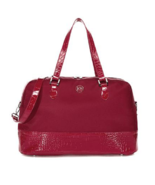 JOY E*Lite Croco-Embossed Couture TuffTech Getaway Bag with RFID - $44.54