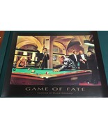 """GAME OF FATE by Chris Consani (1997) vintage 24"""" x 32"""" print The Three S... - £19.97 GBP"""