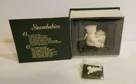 """VTG 1993 Snowbabies """"Can I Open It Now"""" Event Piece Department 56 w Box ... - $28.04"""