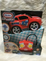 Little Tikes Rc Wheelz First Racers Radio Controlled Car Bs27 - $14.01