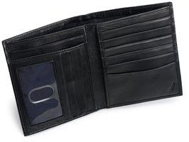 New Nautica Men's Premium Leather Credit Card ID Organizer Big Wallet 31NU19X003 image 8