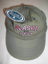 ALASKA Est. 1959 Hat/Cap Arctic Circle Enterprises, Inc.- Adult One Size... - $12.86