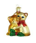 Old World Christmas Kitty Love Ornament - $16.98