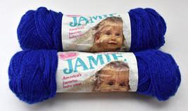 Vintage Lion Brand Jamie Baby Sport 3 Ply Acrylic Yarn - 2 Skeins Colonial Blue - $18.95