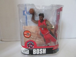 MCFARLANES NBA CHRIS BOSH RAPTORS ACTION FIGURE W/BASE SERIES 13 2007  L227 - $13.19