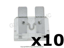 25 Amp Fuse Clear/Natural - GM Type (ATO/ATC) Set of 10 BOSCH +1 YEAR WA... - $12.85