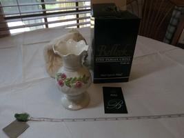 Belleek Ribbon Spill Vase 0674 RARE NOS Fine Parian China Ireland NEW in box # - $53.66