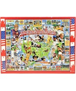 White Mountain Puzzles American Sports History 1000 Piece Puzzle 1995 Se... - $32.66