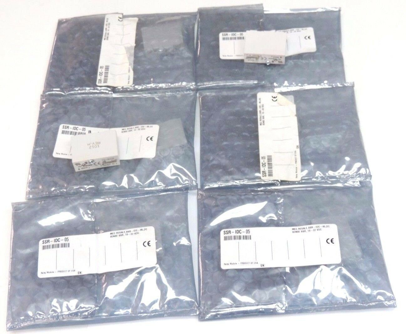 LOT OF 6 NEW GRAYHILL 70-IDC5 I/O MODULES 70IDC5, 50mA, 3-32VDC