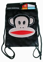 Paul Frank Black Plush Julius Sling Backpack Gym Bag