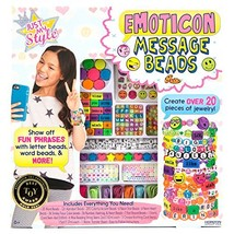 Just My Style Emoticon Message Beads by Horizon Group USA - $18.30